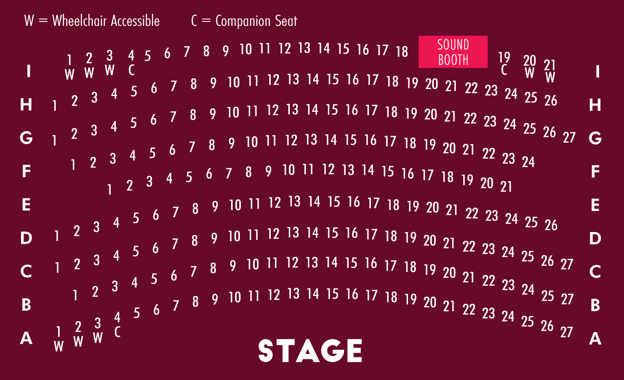 Wilma Theater Seating Chart