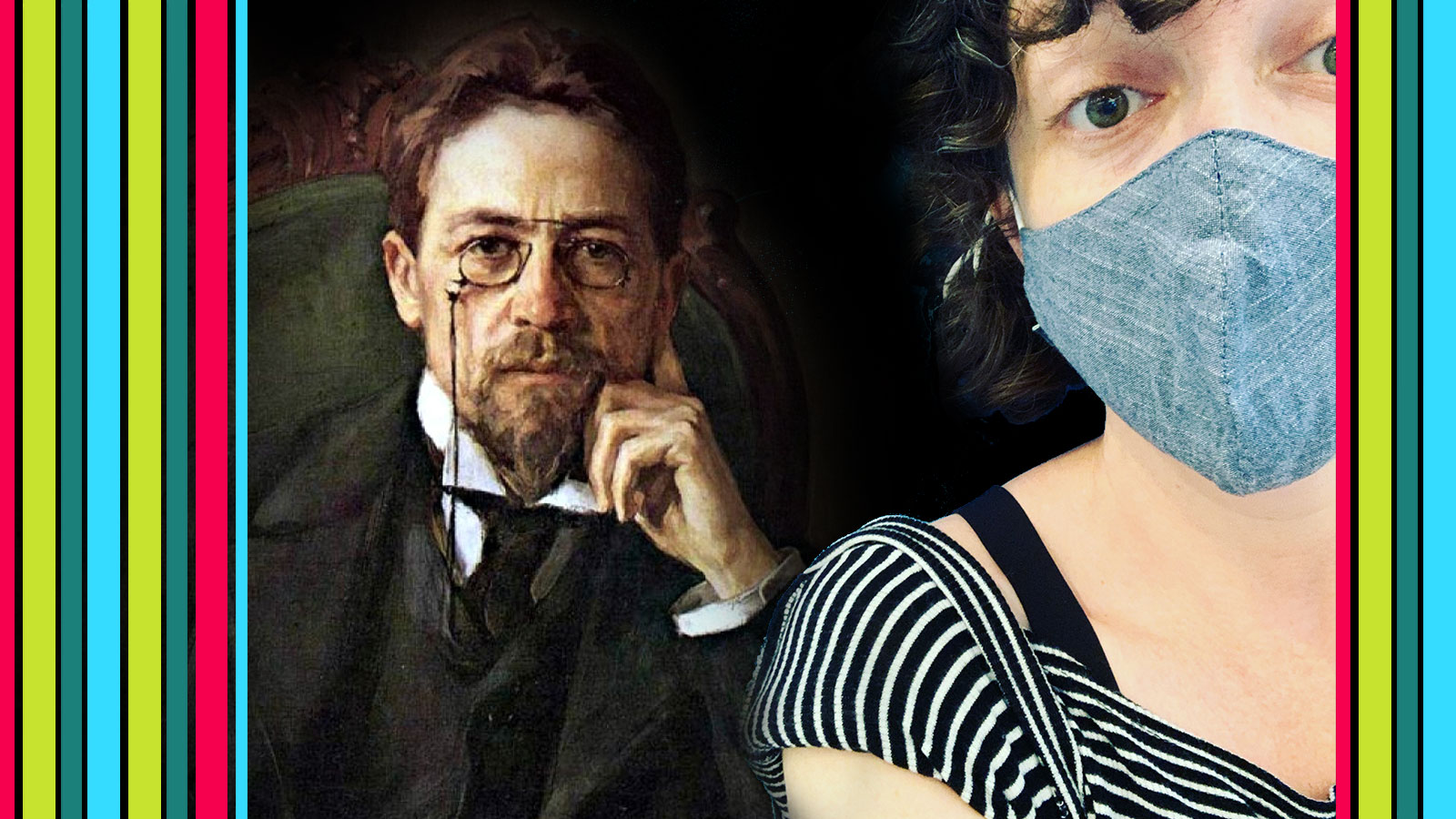 Playwright Anton Chekhov and Dramaturg Kellie Mecleary